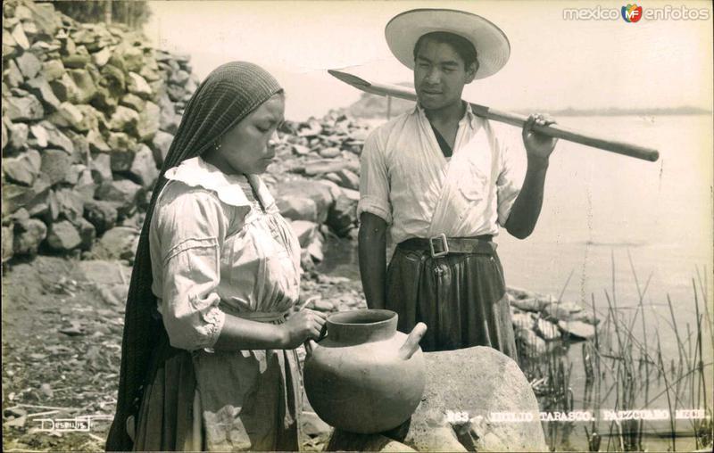 Tipos Tarascos Hacia 1945