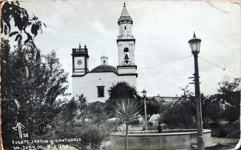 Fuente, Jardin & Santuario Hacia 1945