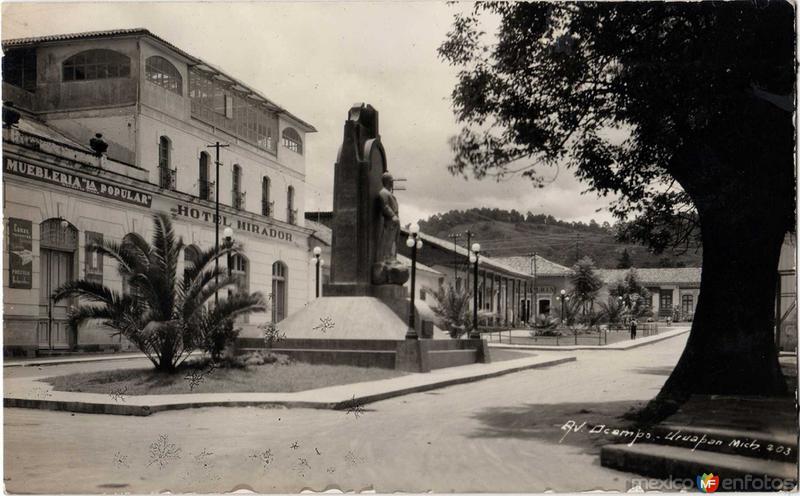 Avenida Ocampo Hacia 1940
