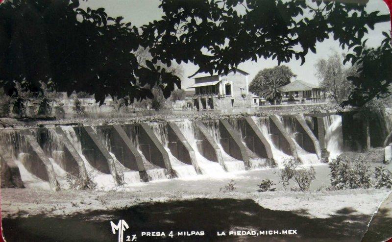 Presa Cuatro milpas Hacia 1945