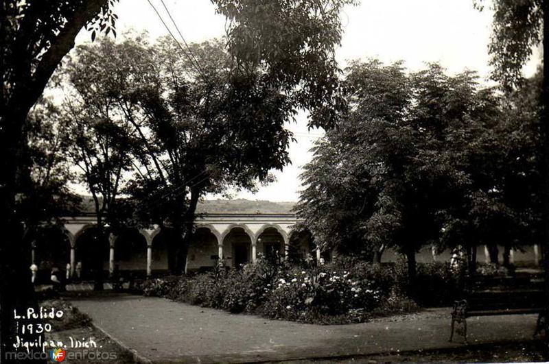 La Plaza en 1930