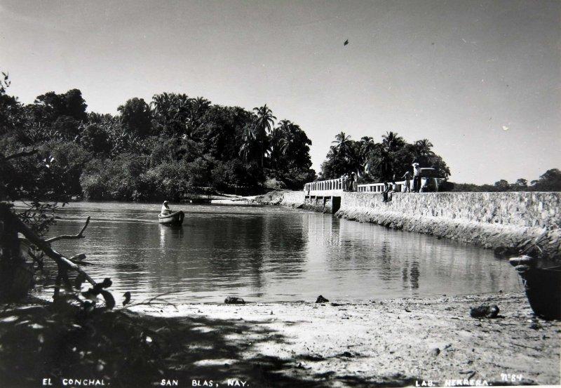 El Conchal Hacia 1945