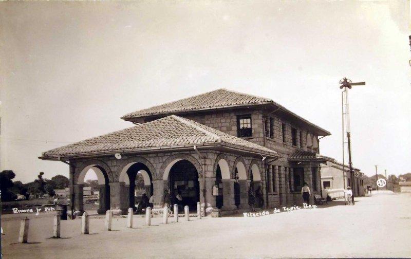 Estacion Ferroviaria Hacia 1930