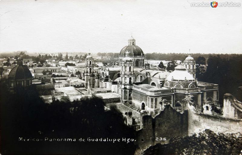 La Villa de Guadalupe Hacia 1900