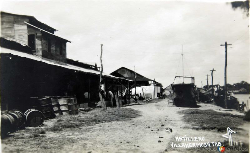El Astillero Hacia 1930
