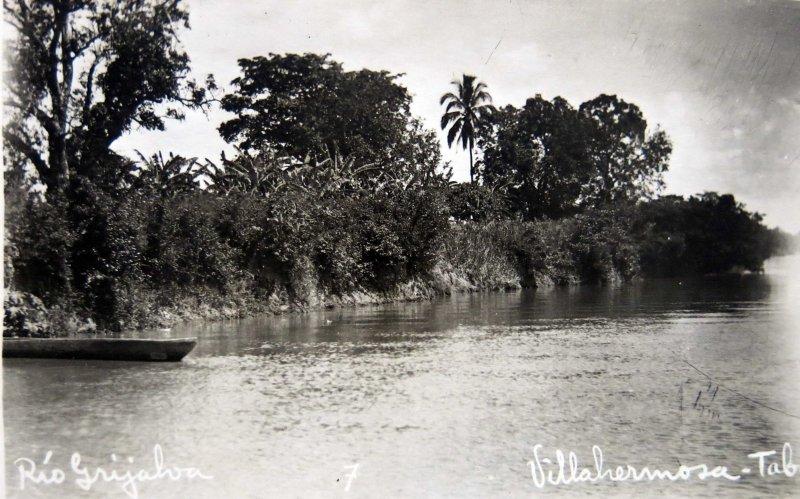 Rio Grijalva Hacia 1945