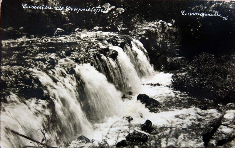 Cascada de Chapultepec Hacia 1945