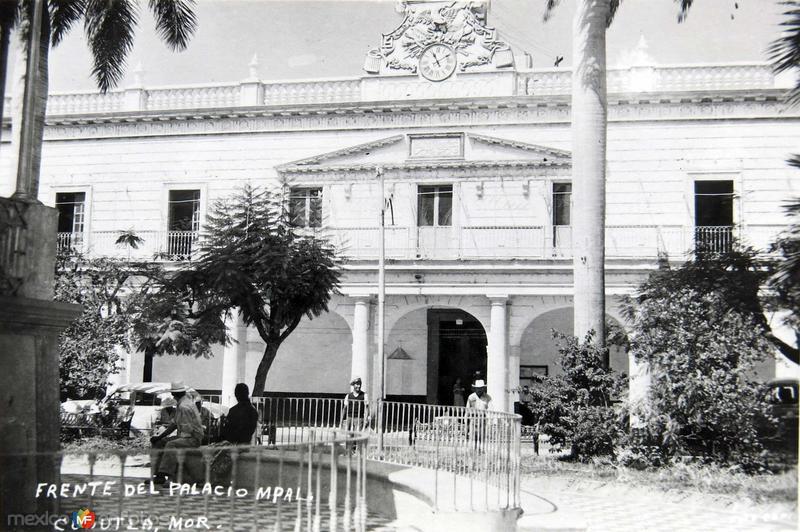 Fuente del Palacio Mpl.Hacia 1945
