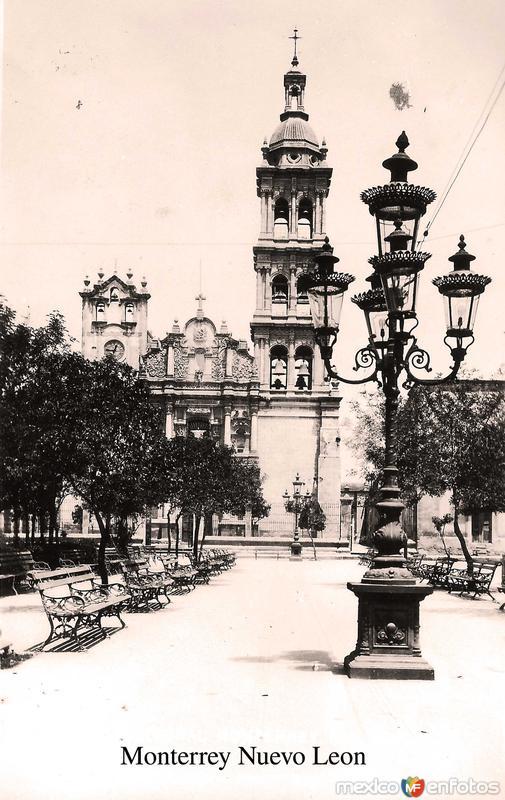 Fotos de Monterrey, Nuevo Le�n, M�xico: Parroquia Hacia 1945