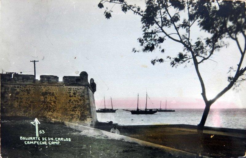 Baluarte de San Carlos Hacia 1945