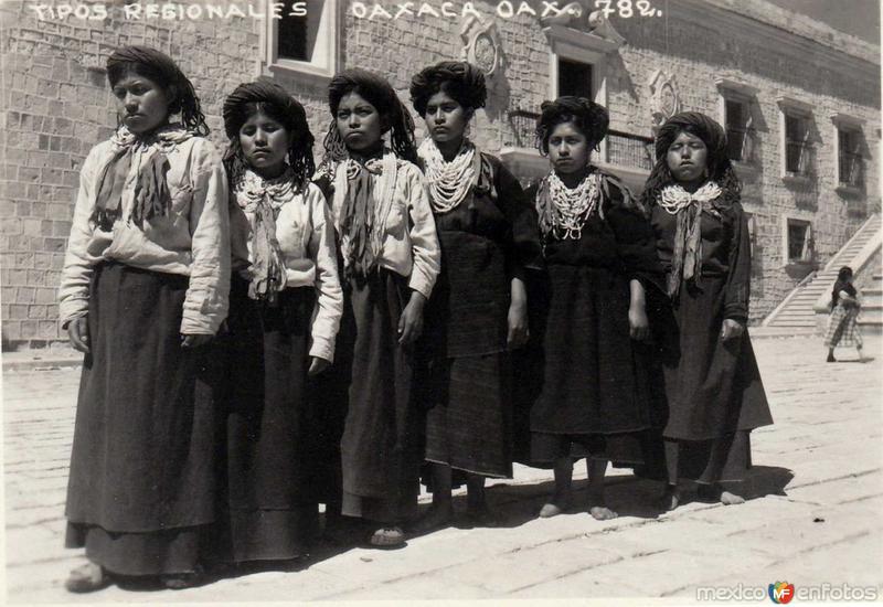 Tipos Regionales hacia 1900