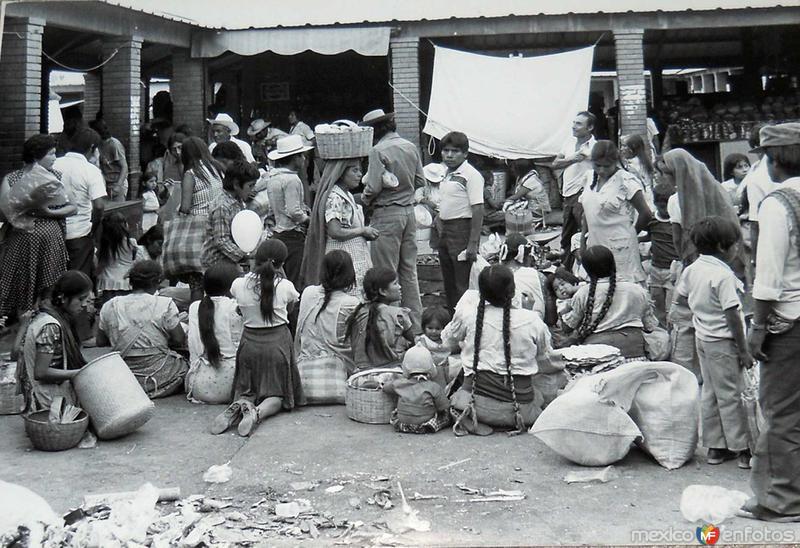 mercado hacia 1950