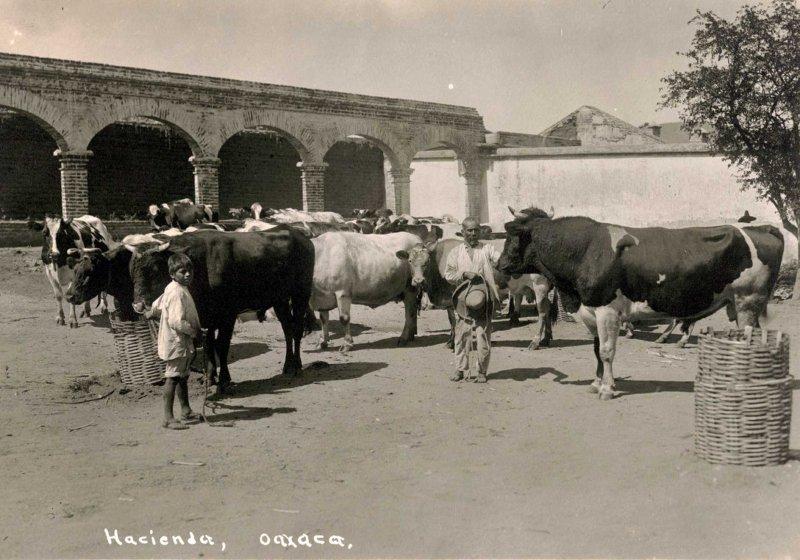 Cerca de Juchitan Una Hacienda hacia 1930