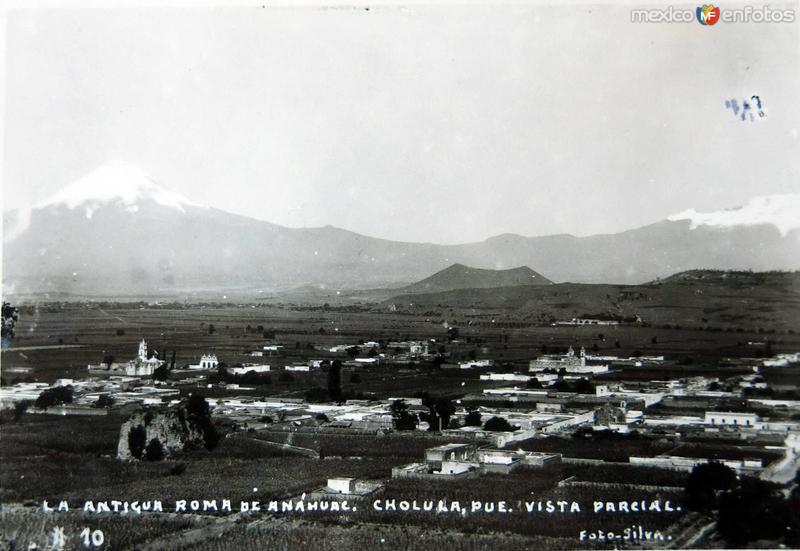 La Antigua Roma del Anahuac Hacia 1945