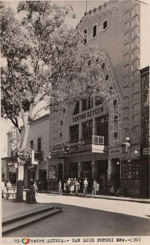 Teatro Azteca Hacia 1945