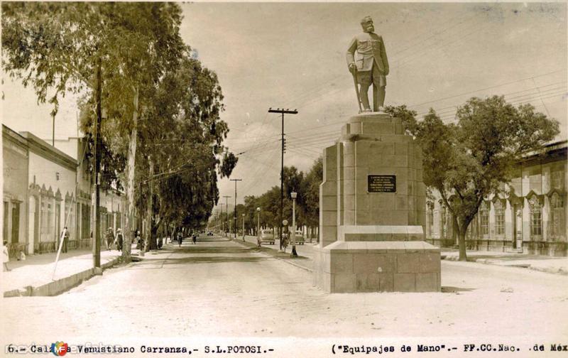 Calzada Venustiano Carranza Hacia 1945