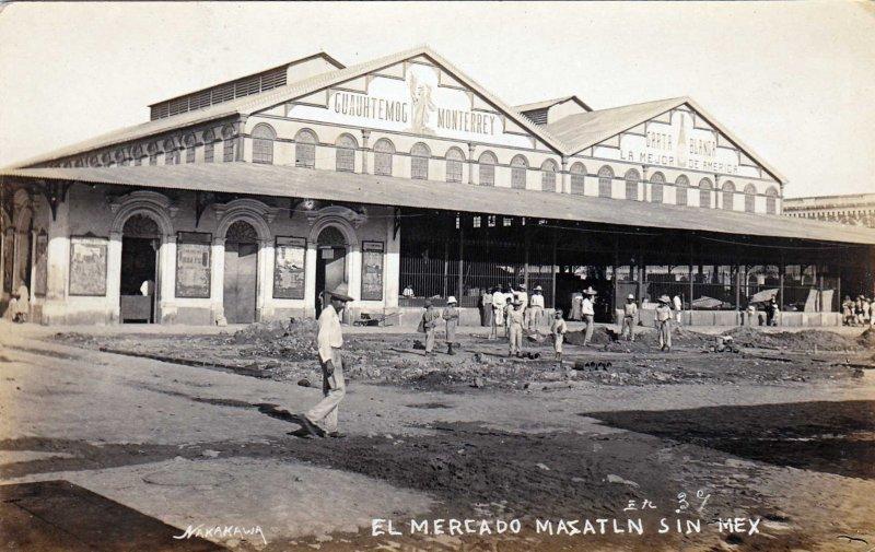 El Mercado Hacia 1930