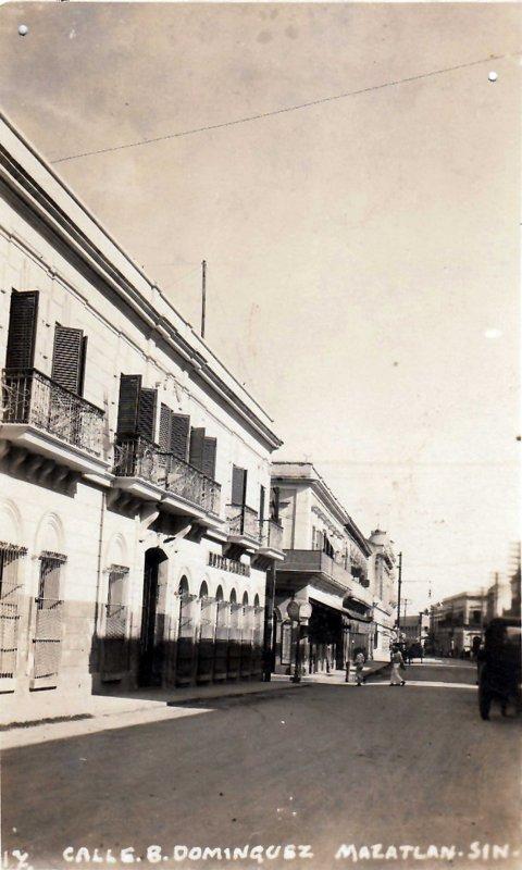 Calle Belisario Dominguez Hacia 1920