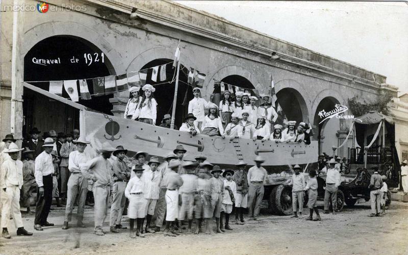 Carnaval de 1921 Hacia 1921
