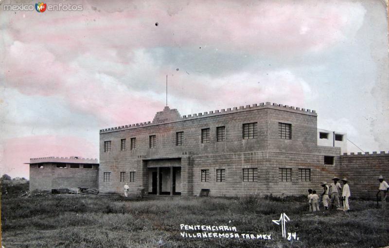 Penitenciaria hacia 1940