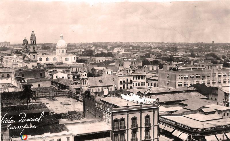 Fotos de Tampico, Tamaulipas, México: Vista Parcial Hacia 1930