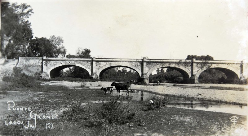 Fotos de Lagos de Moreno, Jalisco, México: Puente Grande Hacia 1930