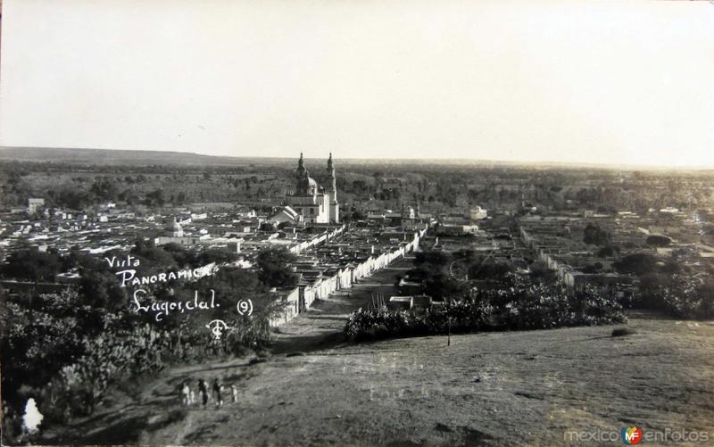 Vista Panoramica Hacia 1945