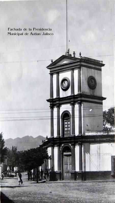 Palacio Municipal hacia 1945