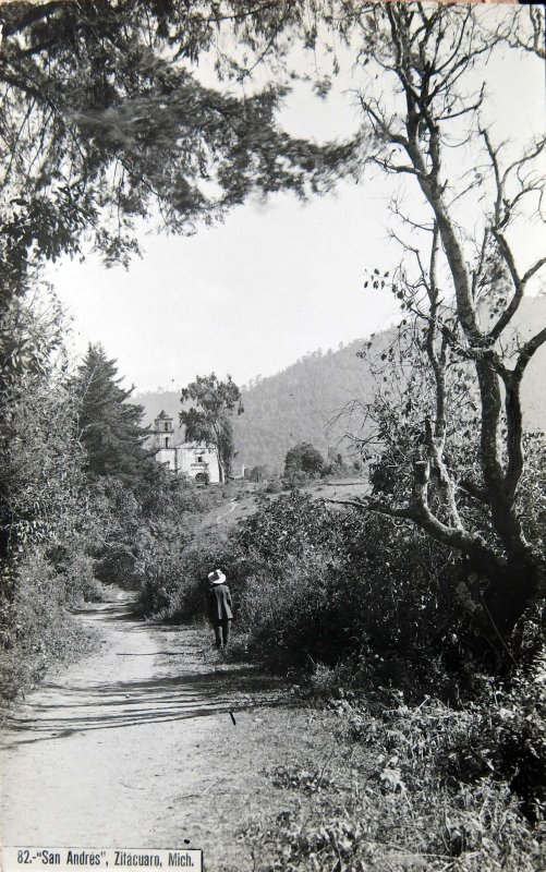 Iglesia de San Andres Hacia 1930