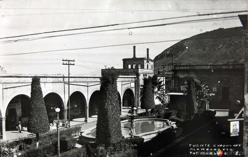 Fuente Guadalupe Hacia 1945