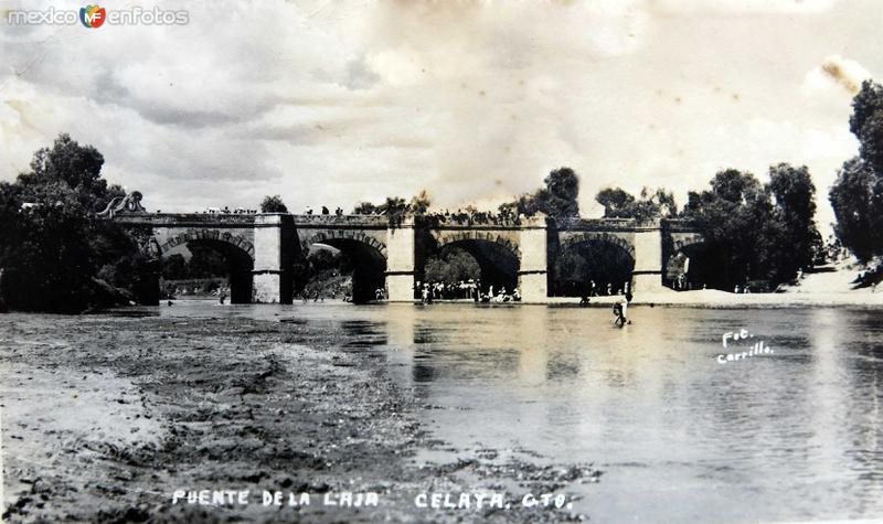 Puente de la Laja Hacia 1945