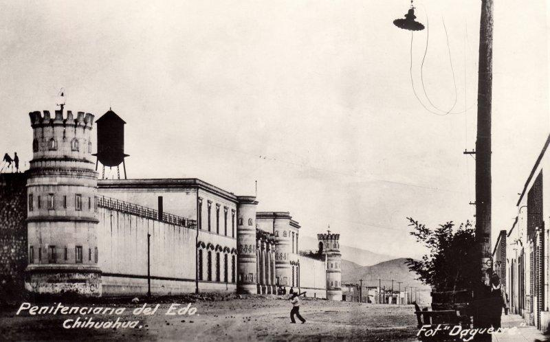 Fotos de Chihuahua, Chihuahua, M�xico: Penitenciar�a del Estado (c. 1931)