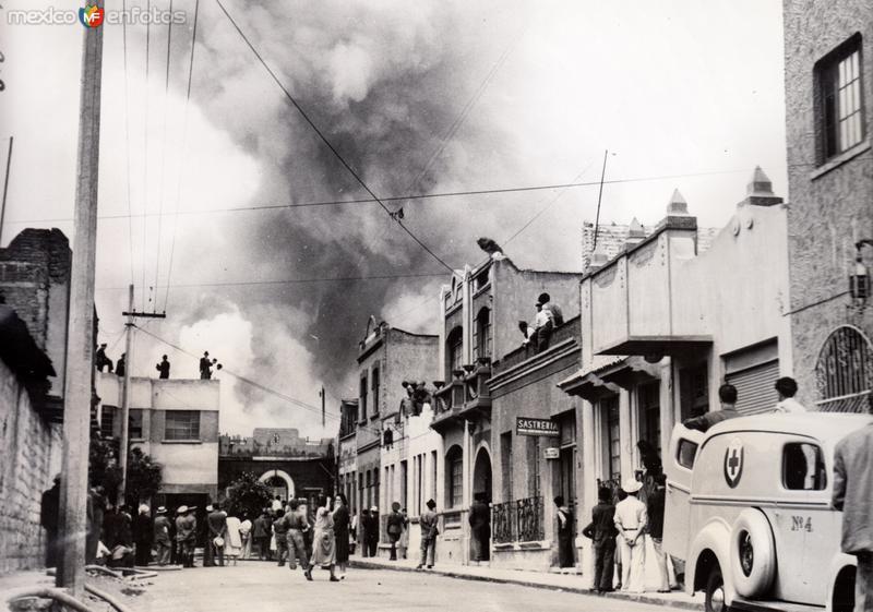 Incendios causados por el terremoto de 1941