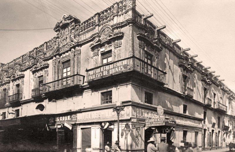 Puebla, mansión colonial