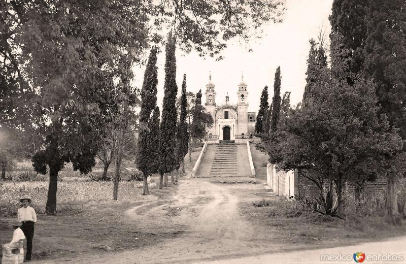 Cholula, iglesia de Guadalupe