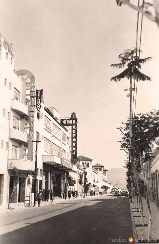 Tehuacán, Avenida Reforma