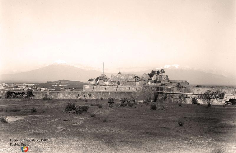 Puebla, Fuerte de Guadalupe, 1908