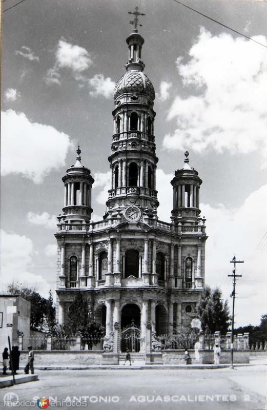 Iglesia de San Antonio Hacia 1945