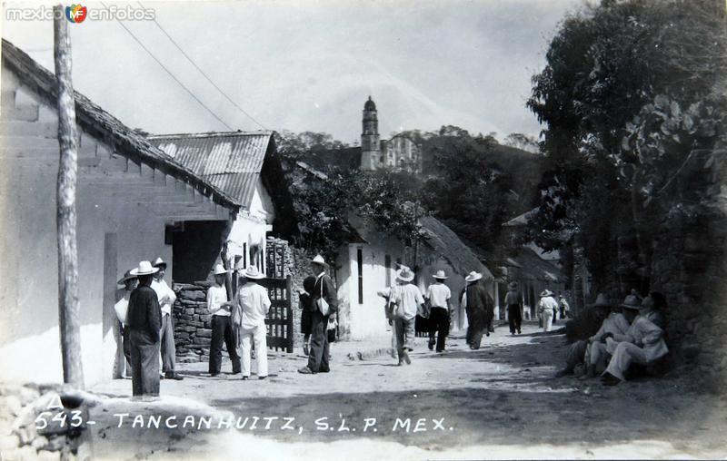 Escena Callejera Hacia 1945