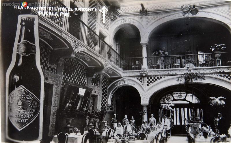 Restauran Y hotel Arronte Hacia 1945