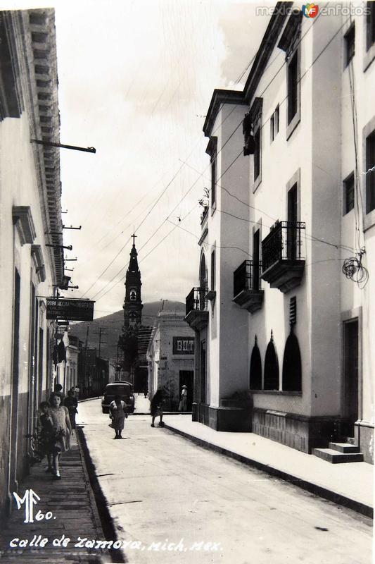 Una Calle Hacia 1930