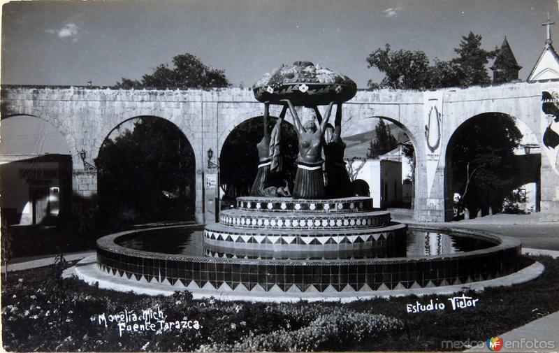 Fuente Tarasca Hacia 1939