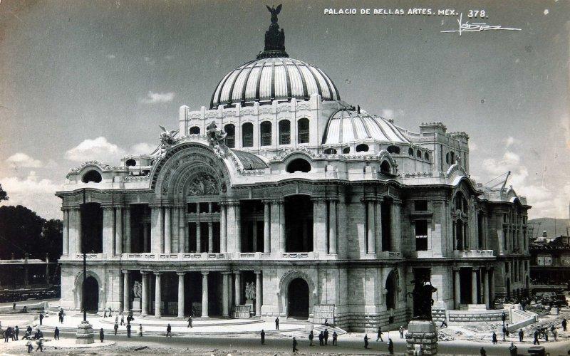 Palacio de Bellas Artes Hacia 1940