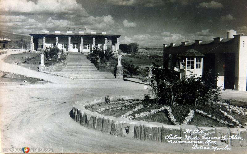 Salon Verde Hotel-Casino la Selva Hacia 1945
