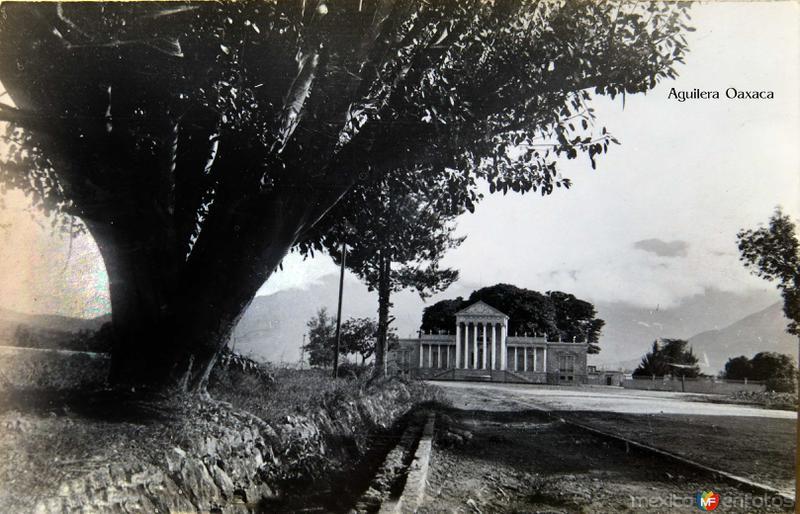Hacienda de Aguilera, Hacia 1945