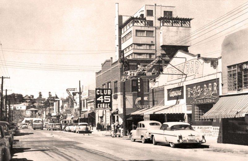 Fotos de Nogales, Sonora, M�xico: Nogales, Avenida Obreg�n, 1958