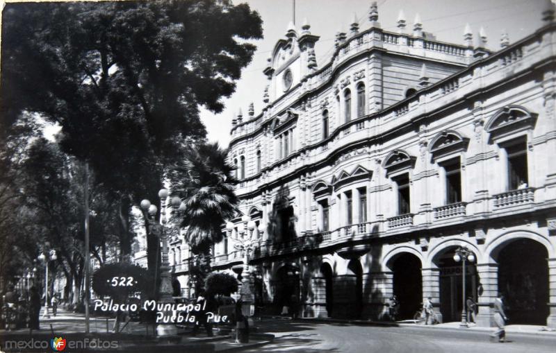 Palacio municipal de Puebla 1931