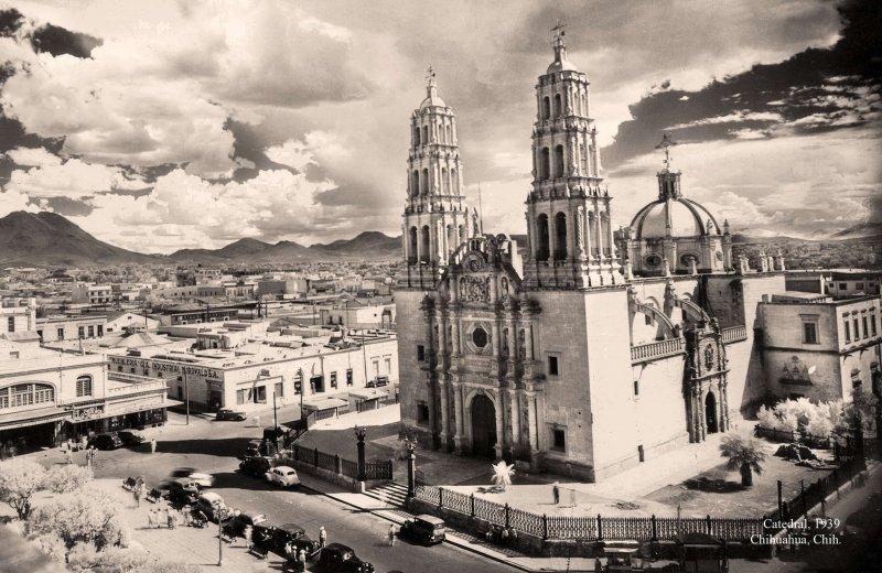Fotos de Chihuahua, Chihuahua, M�xico: Chihuahua, Catedral, 1939