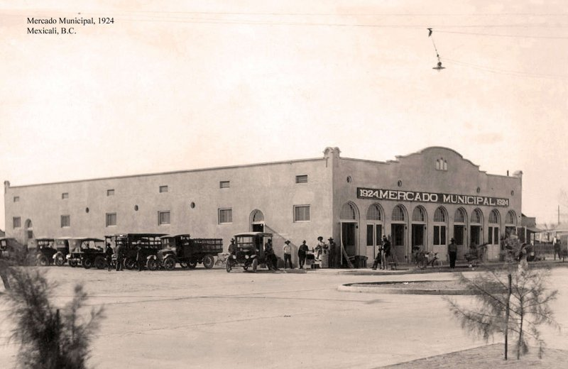 Mexicali, Mercado Municipal, 1924