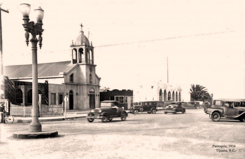 Tijuana, Parroquia, 1934